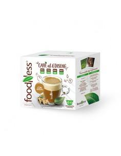 FOODNESS Dolce Gusto CAFFE al GINSENG con ZENZERO Confezione 10 capsule