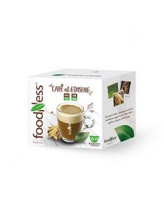 FOODNESS Dolce Gusto CAFFE al GINSENG CLASSICO FREE Confezione 10 capsule