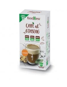 FOODNESS Nespresso CAFFE al GINSENG Classico Astuccio 10 capsule