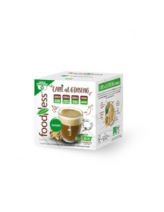 FOODNESS MODO MIO CAFFE al GINSENG AMARO Astuccio 10 capsule compostabili