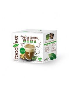 FOODNESS Dolce Gusto CAFFE al GINSENG AMARO senza Additivi Confezione 10 capsule