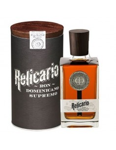 RELICARIO Rum SUPREMO 15 Anos 70 cl tubo con tappo di legno