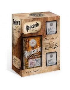 RELICARIO Rum 10 Anos 70 cl con confezione 2 bicchieri