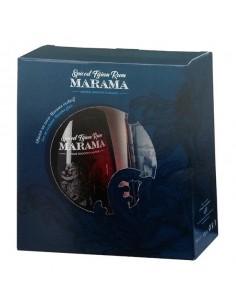 MARAMA Spiced Rum 70 cl confezione con 1 bicchiere